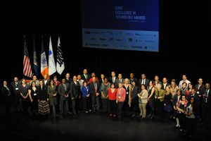 Winners of CUNY project and Service awards