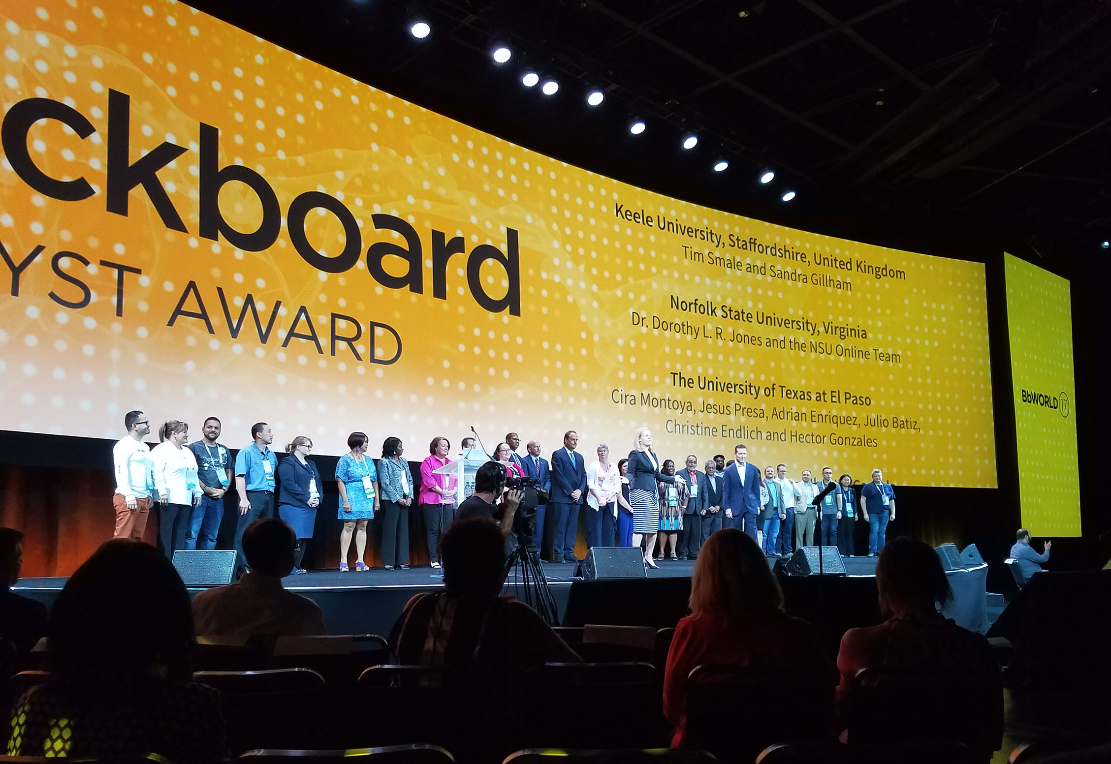 Blackboard Catalyst Award winners