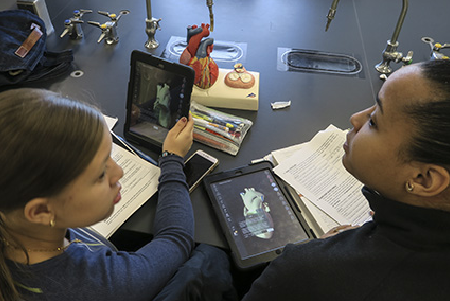 Using Mobile Technology in the  Anatomy and Physiology Lab