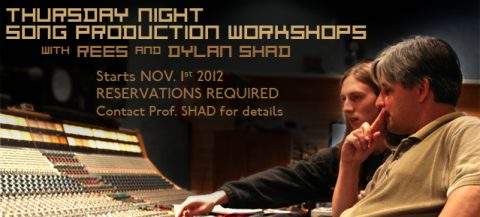 Song Production Workshop with Rees & Dylan Shad