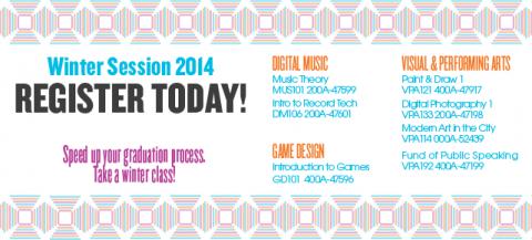Winter Term Classes Speed up the Graduation Process!
