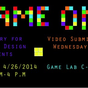 ALL GAME DESIGNERS - Your Game Competition Entry is DUE WEDNESDAY!!!!!