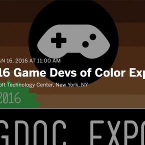 GAME DEVS OF COLOR EXPO!  HOSTOS GAME DESIGNERS - REPRESENT!