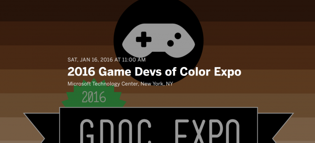 GAME DEVS OF COLOR EXPO!  HOSTOS GAME DESIGNERS - REPRESENT!