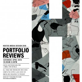 Portfolio Reviews 2016 - SAVE THE DATE - APRIL 16!