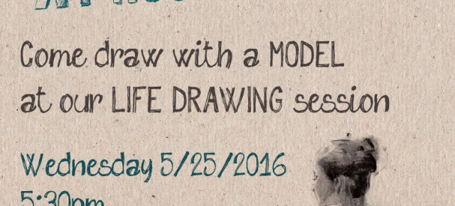 Live Drawing Session @ Hostos - Wednesday May 25!