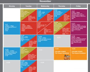 NEW PD Calendar Fall 2016