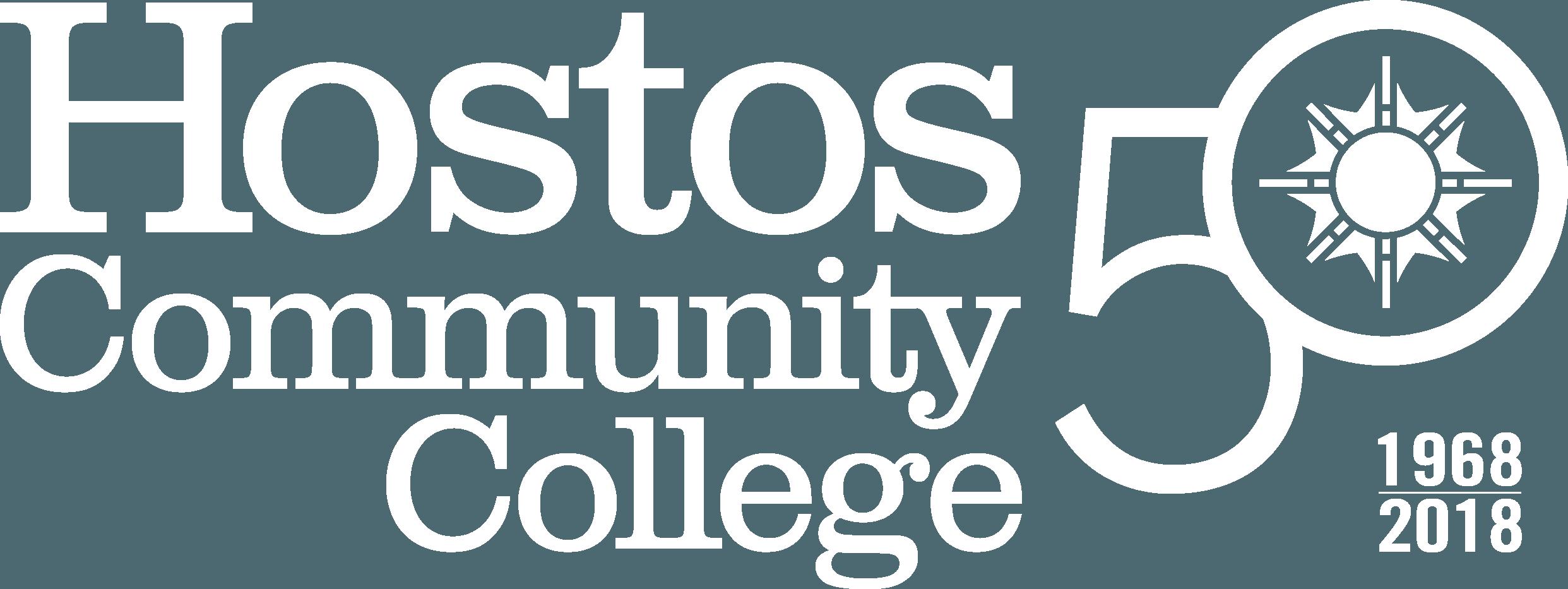 Hostos 50 Anniversary Logo