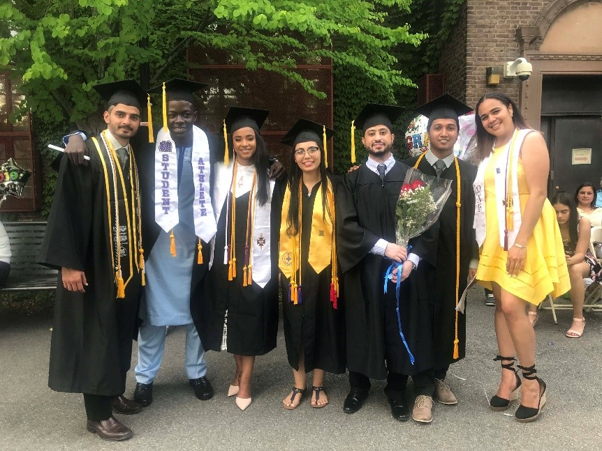 Spring 2019 Hostos Alumni Graduate from CCNY Grove School of Engineering
