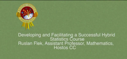 Developing and Facilitating a Successful Hybrid Statistics Course