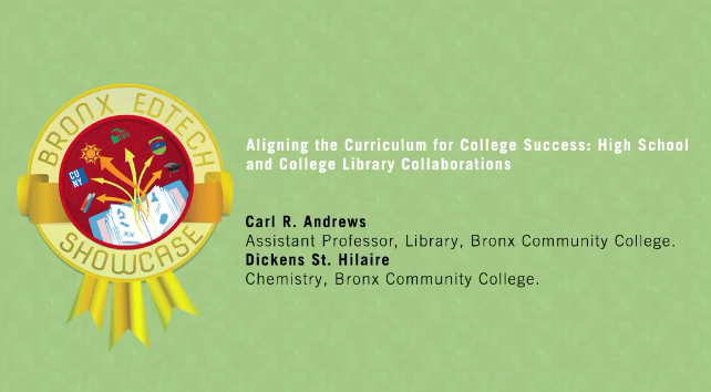 Aligning the Curriculum for College Success: High School and College Library Collaborations 2016