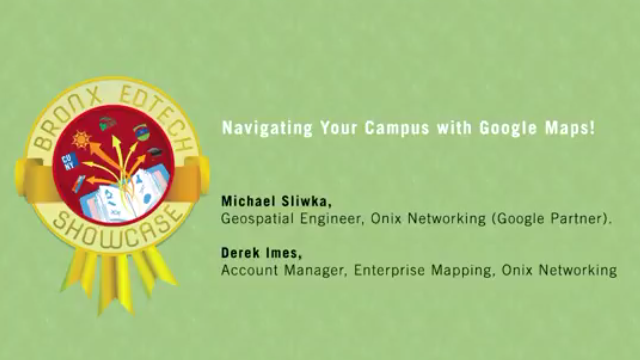Navigating Your Campus with Google Maps! 2017