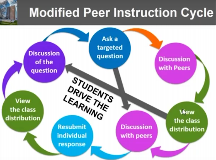 modified peer instruction