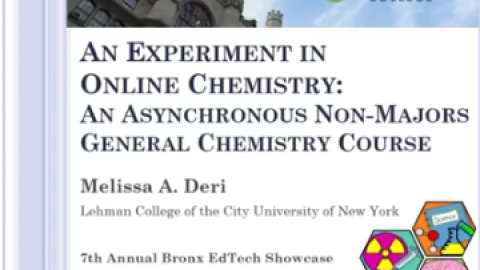 An Experiment in Online Chemistry: An Asynchronous Non-majors General Chemistry Course