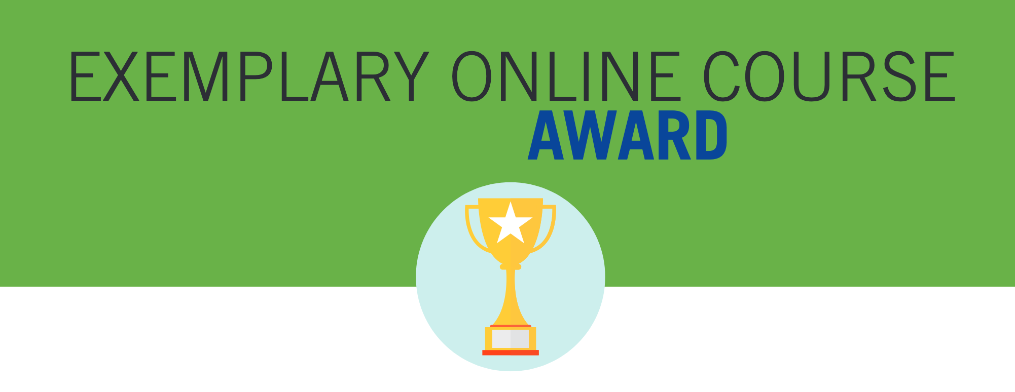 exemplary online course award