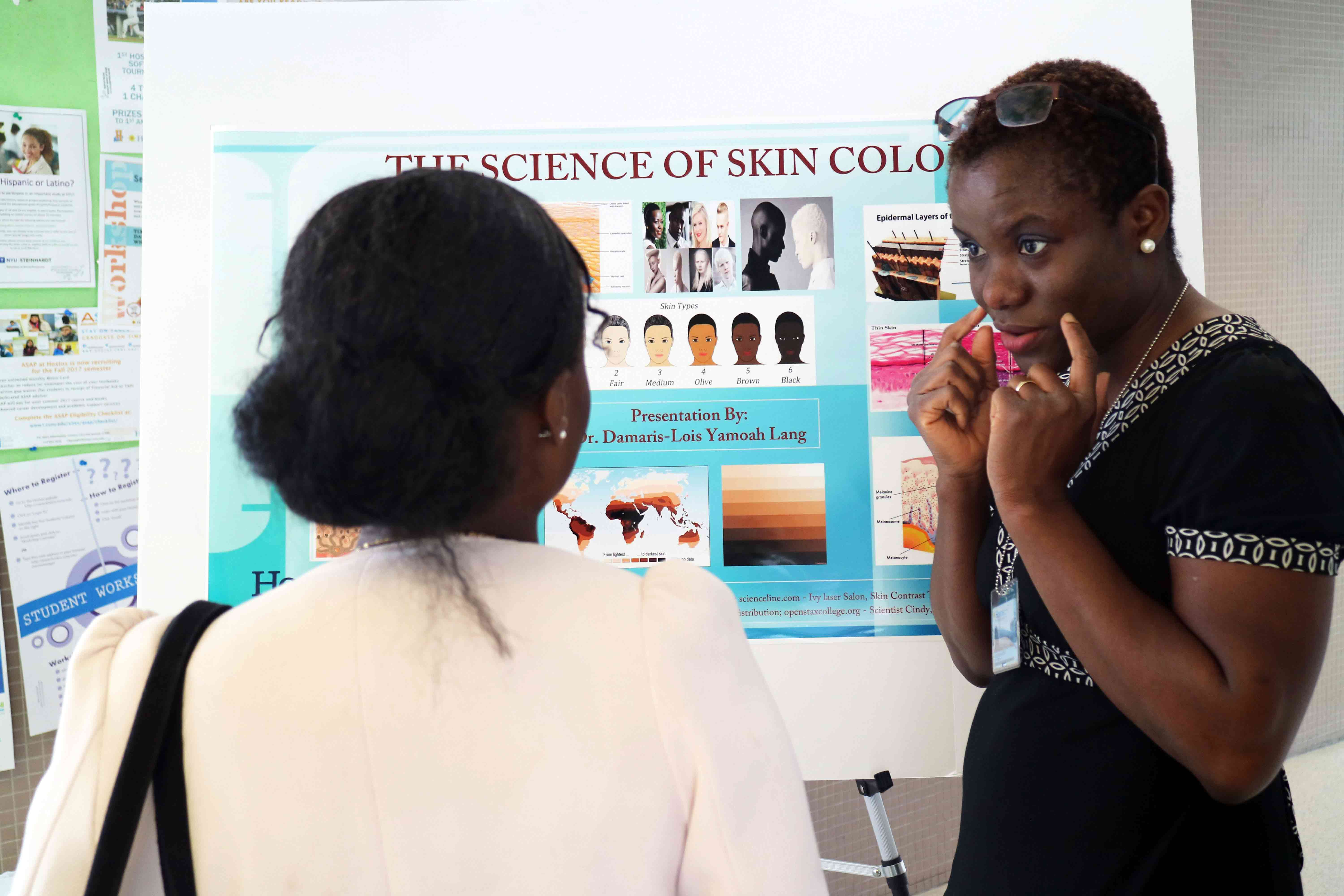 Teaching Day - The Science of skin color Prof. damaris