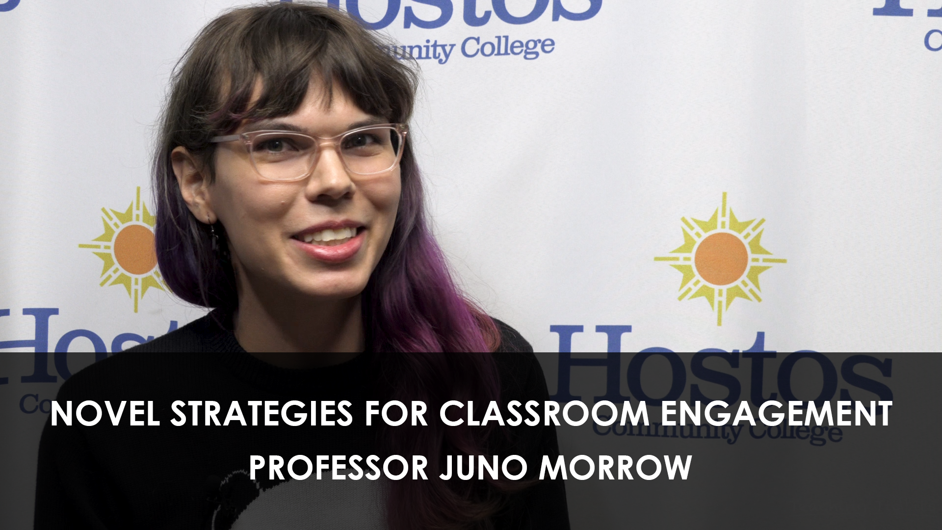 Novel Strategies for Classroom Engagement Prof. Juno Morrow