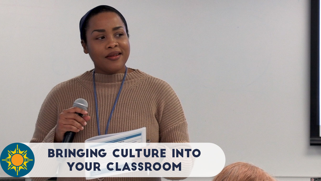 Bringing Culture into your classroom Prof Stacey Cooper