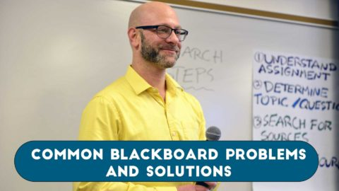 Common Blackboard Problems and Solutions