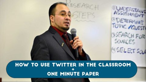 How to Use Twitter in the Classroom | One Minute Paper