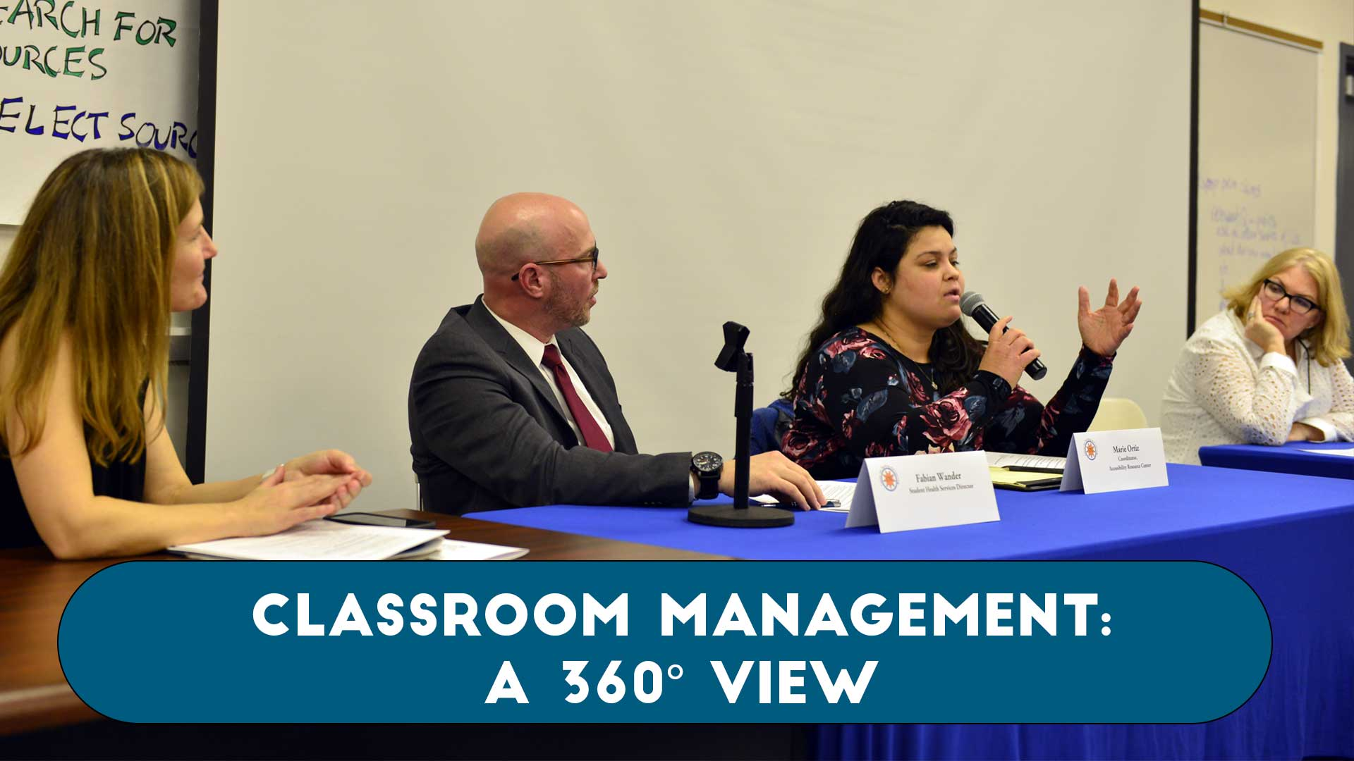 Classroom Management: A 360 View