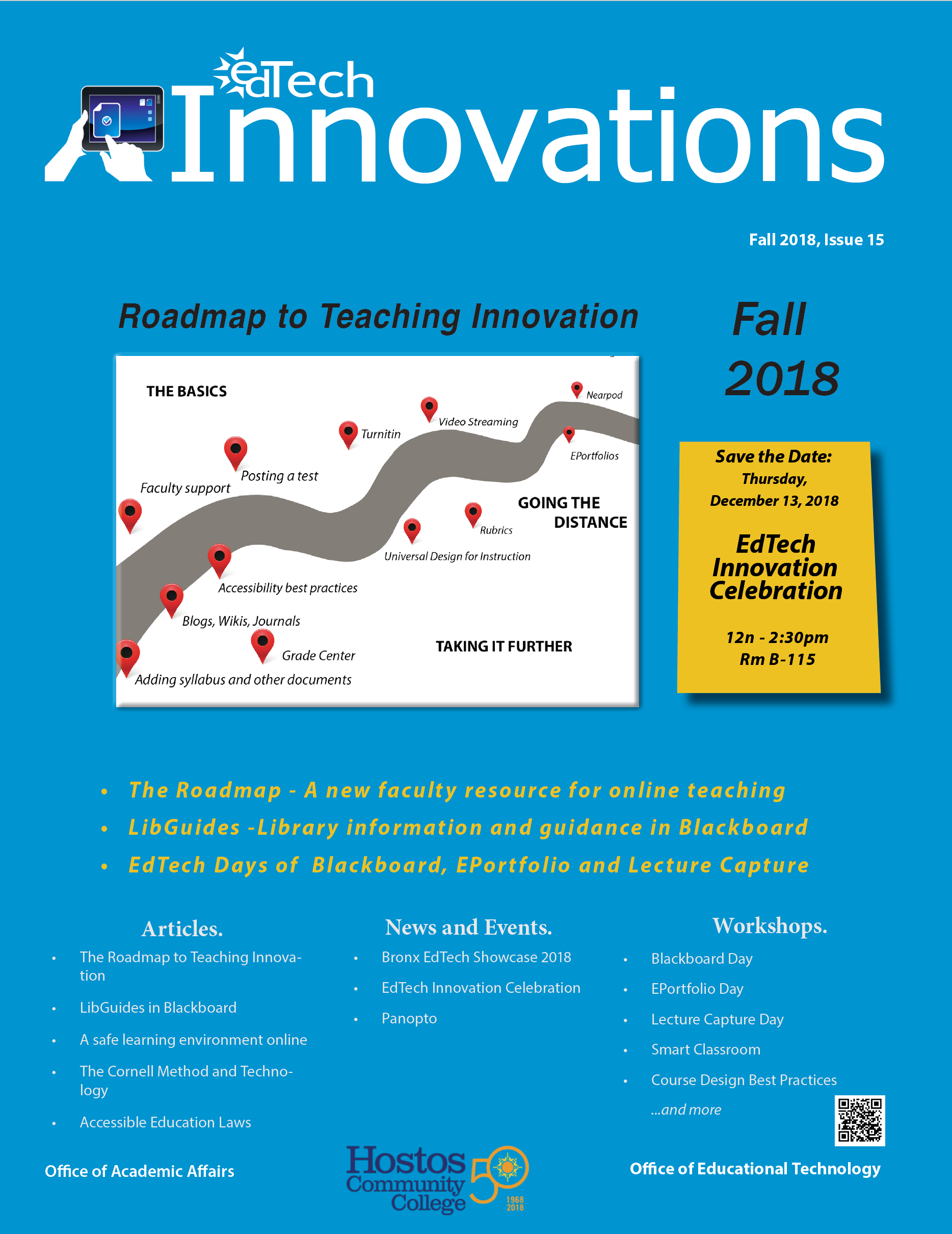 EdTech Innovations cover fall 2018