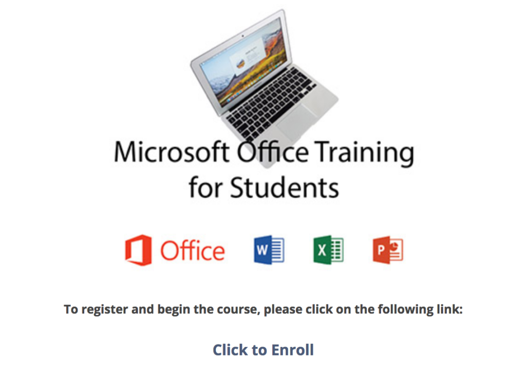 microsoft training for students