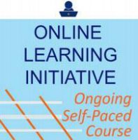 Online Learning Initiative Course self-paced