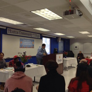 Spring Dramatic Reading Contest at Hostos: Wednesday, April 15, 2015
