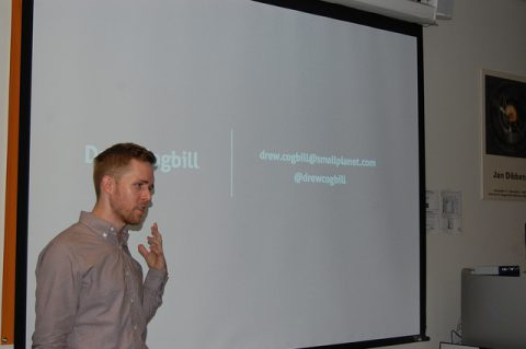 Drew Cogbill speaks about App and Game Development