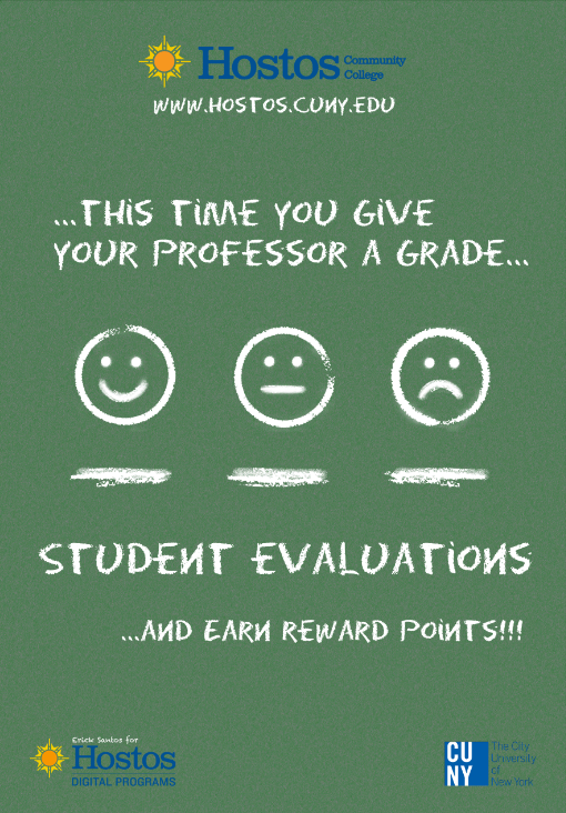 POSTER COMPETITION /// Student Evaluations