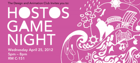GAME NIGHT | A Design & Animation Club Event