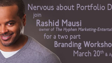 Nervous About Portfolio Reviews? Join Rashid Mausi for a Two Part Branding Workshop!