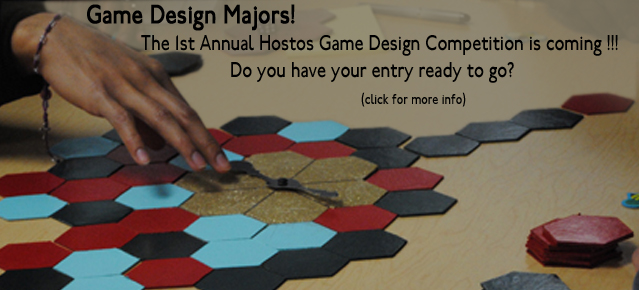 The 1st Annual Hostos Game Design Competition Is Coming!!!!