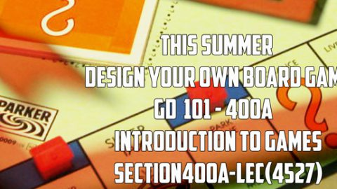 Summer Game Design Class