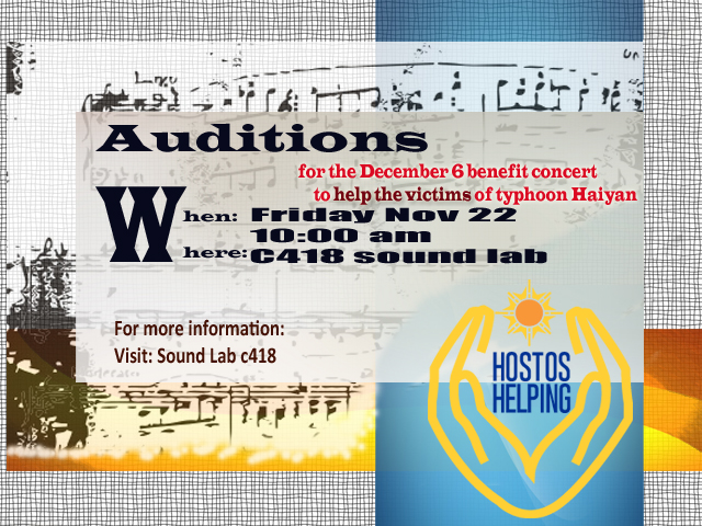 Calling all musical performers!
