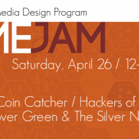 Come join us on Saturday, April 26 in the Game Lab (C-456) from 12 to 4 PM to hang out with some game designers, play through the games, and see who wins the grand prize!