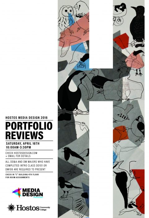 Portfolio Reviews 2016 – SAVE THE DATE – APRIL 16!