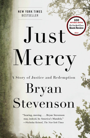 An image of Just Mercy by Bryan Stevenson