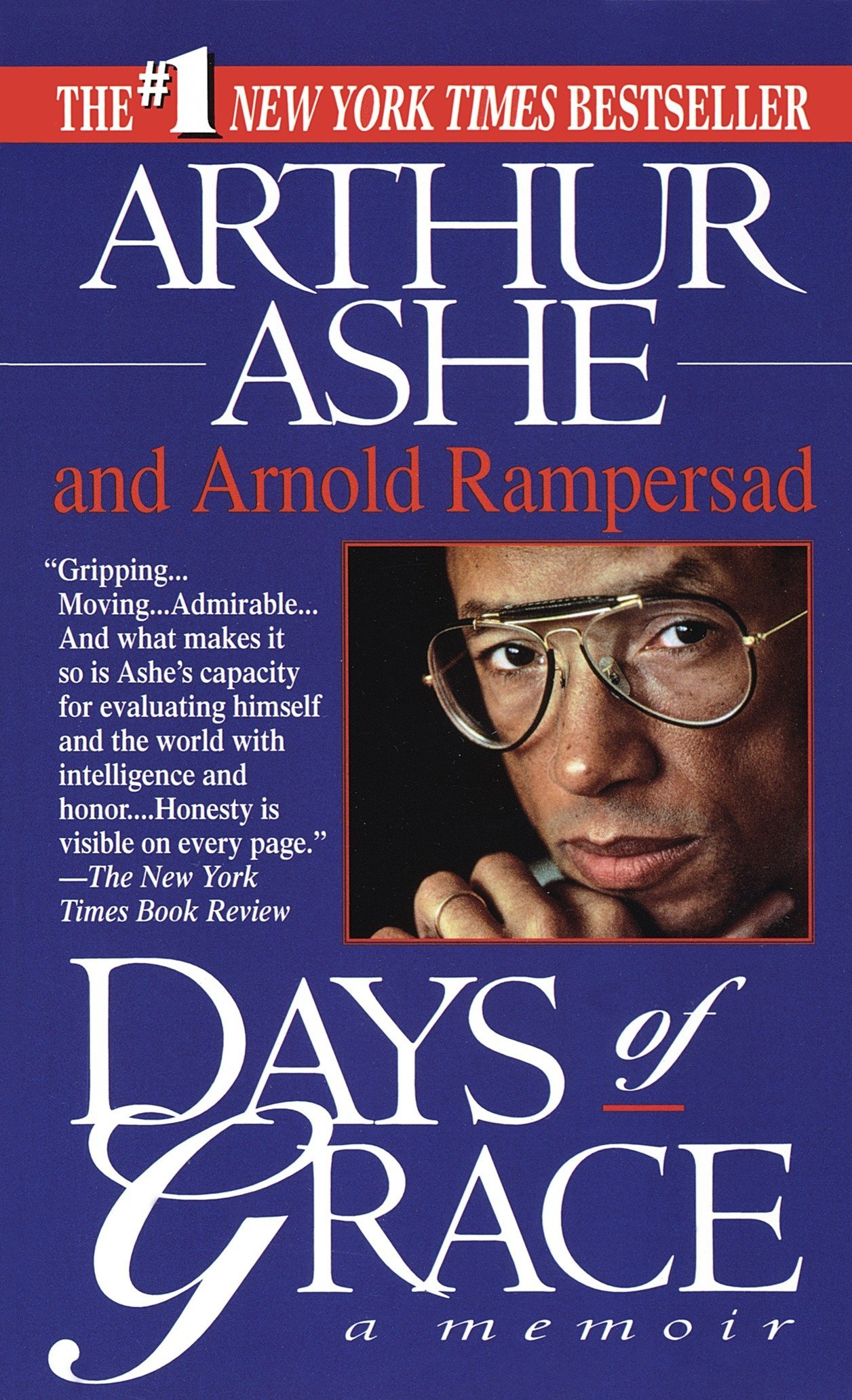 An image of Days of Grace by Arthur Ashe and Arnold Rampersad