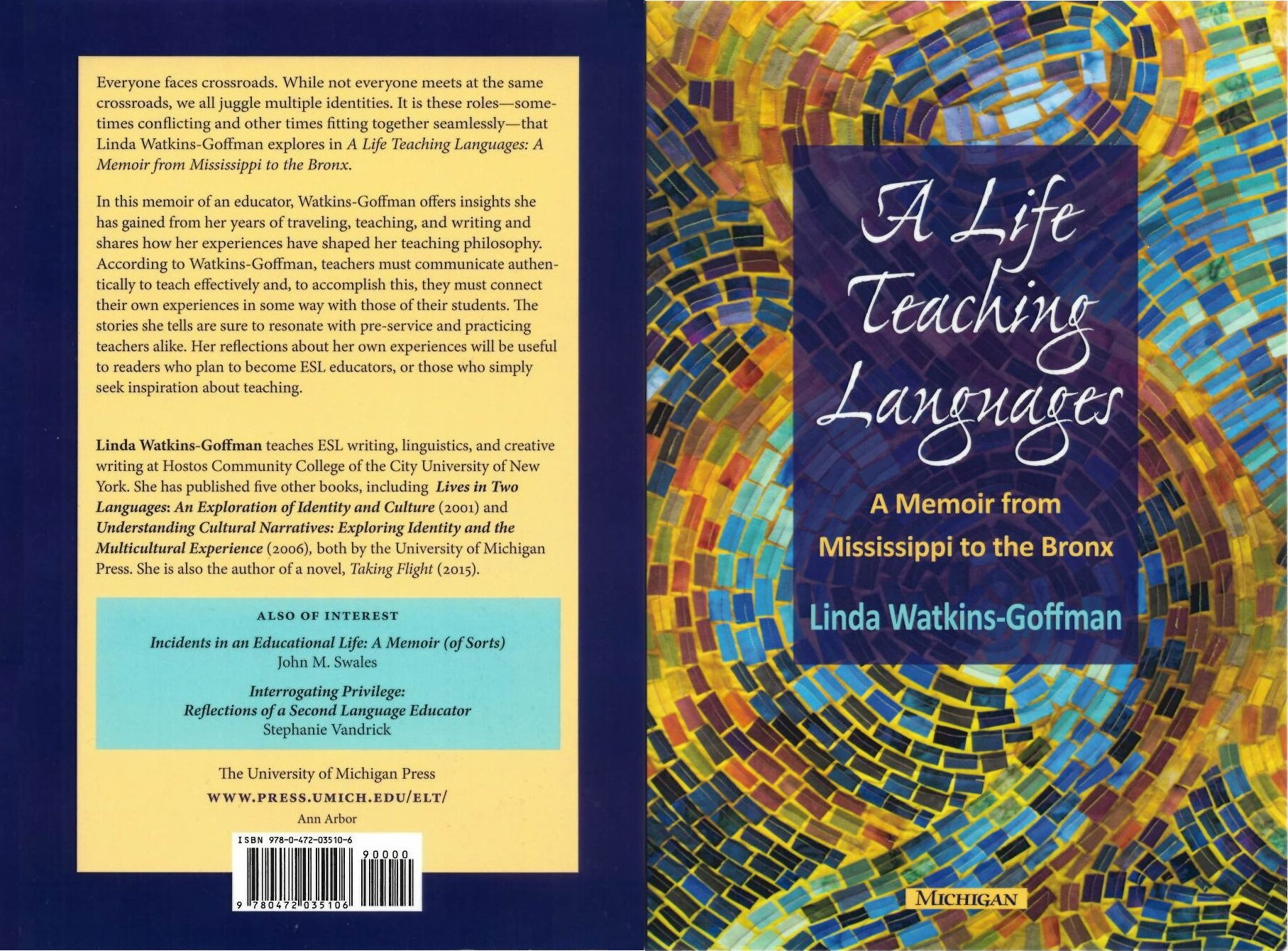 A life Teaching Languages - A Memoir From Mississippi to the Bronx