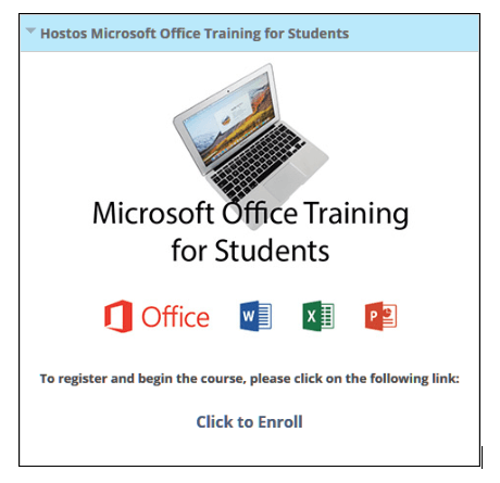 Microsoft Office Training for Students