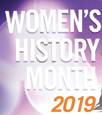 2019 Poster for Women's History Month