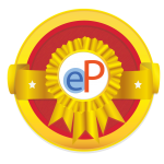 Hostos ePortfolio Gold level Badge