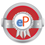 Hostos ePortfolio Silver level Badge