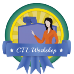 Center for Teaching and Learning workshop badge