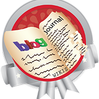 Blogs, Journal and Wiki silver badge