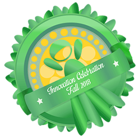 Fall 2018 Innovation Celebration Badge